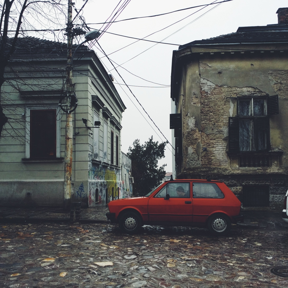The famous Yugo car of the former Yugoslavia