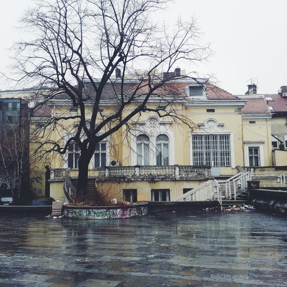 A medical building in Belgrade