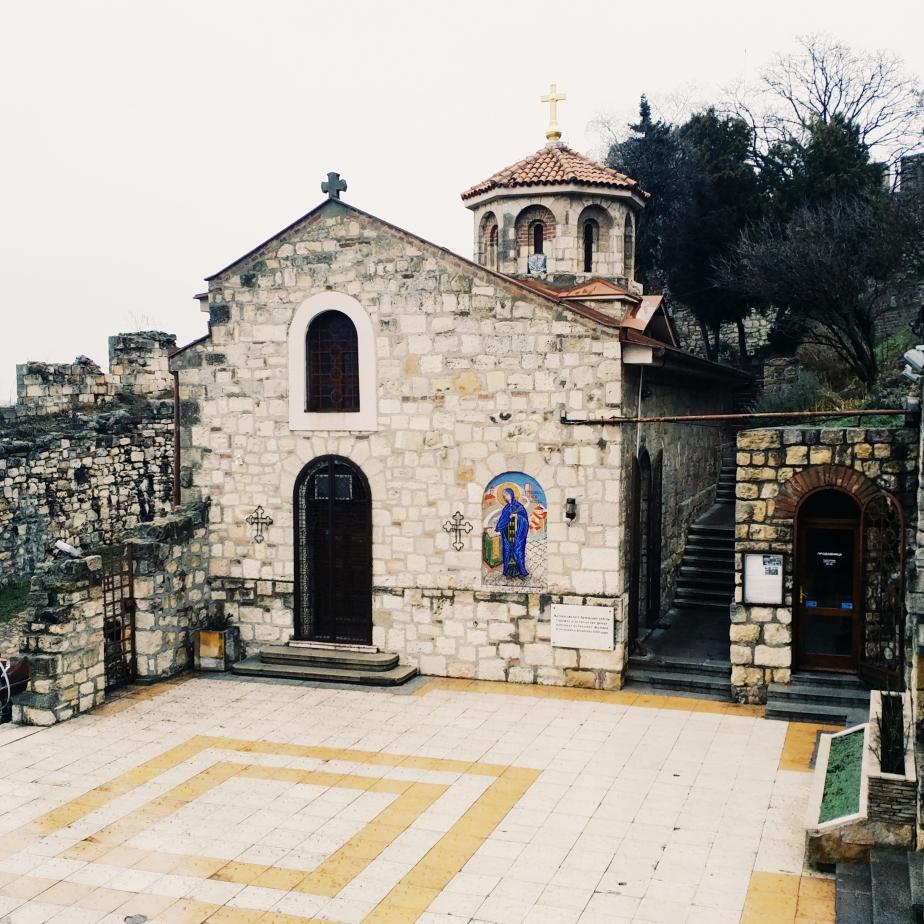 Saint Petka's Chapel inside the Belgrade Fortress