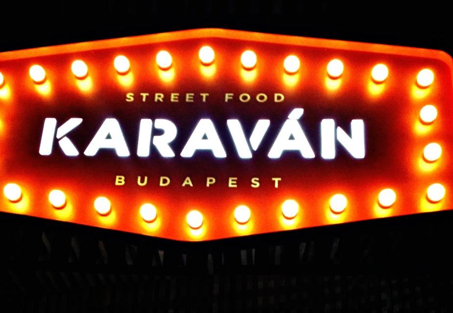 Budapest has a food truckcourt