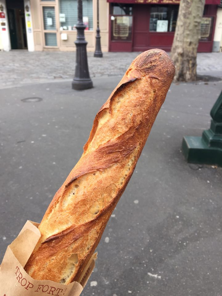 The best baguette inParis