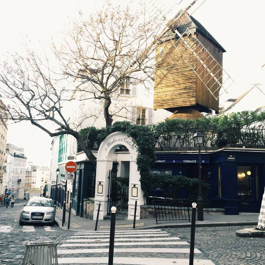 Snapshots of Paris in January