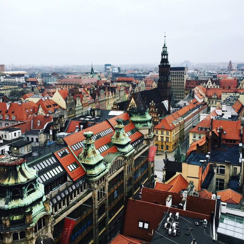 Snapshots of Wrocław